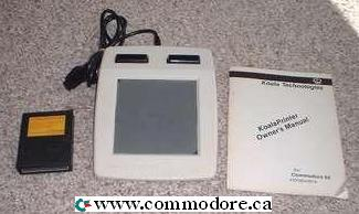 KOALA PAINTER TOUCH PAD: This Koala Pad was used with Commodore 64's and Commodore 128's to create graphics and art. Yet another... 'Apple did not invent this stuff' moment.
