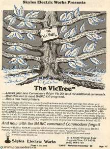 VICTREE - 42 New Commands TORPET Nov 1983