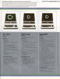 BUSINESS LINE - Pet 4032, Pet 8032, SuperPet SP9000
