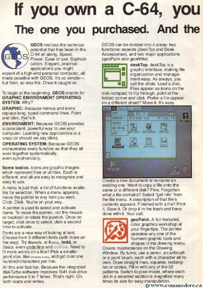 BERKELY SOFTWARES GEOS - Compute ! Sept 1986