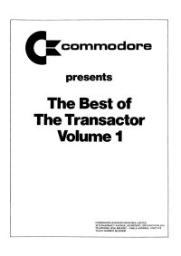 The Best of The Transactor - Volume 1