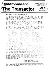 The Transactor Vol 2 12 198?