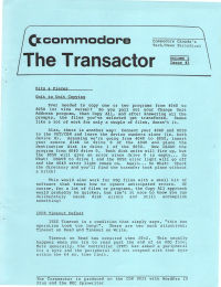 The Transactor Vol 3 03 198?