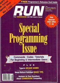 Run Special Programming Issue - 5- 1989
