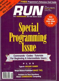 Run Special Programming Issue - 5- 1989