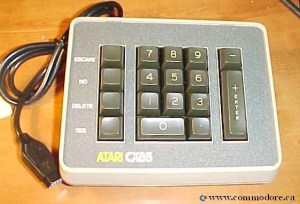 Commodore 64_128 Key Pad_Atari