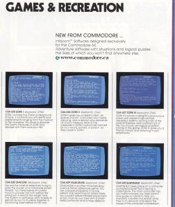 Commodore 64 Software Brochure