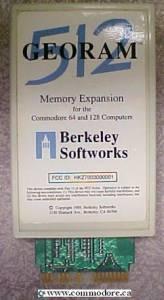 commodore-128-c64-georam-512K