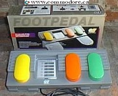 Footpeddle for C64