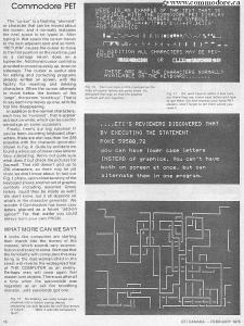 Commodore PET Graphics pet_et_feb 1978_7