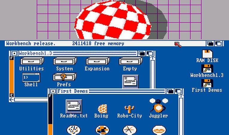 Amiga su PC - Worckbench