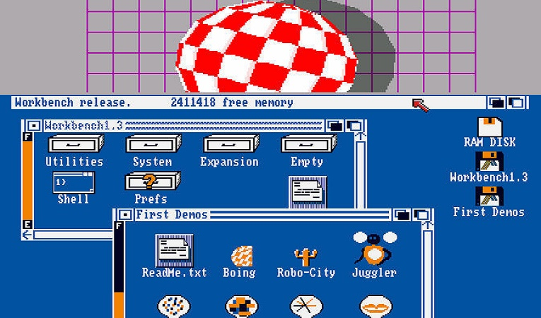 Amiga su PC - Worckbench