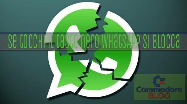 WhatsApp Si blocca