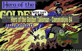 Hero of the Golden Talisman - Commodore 64