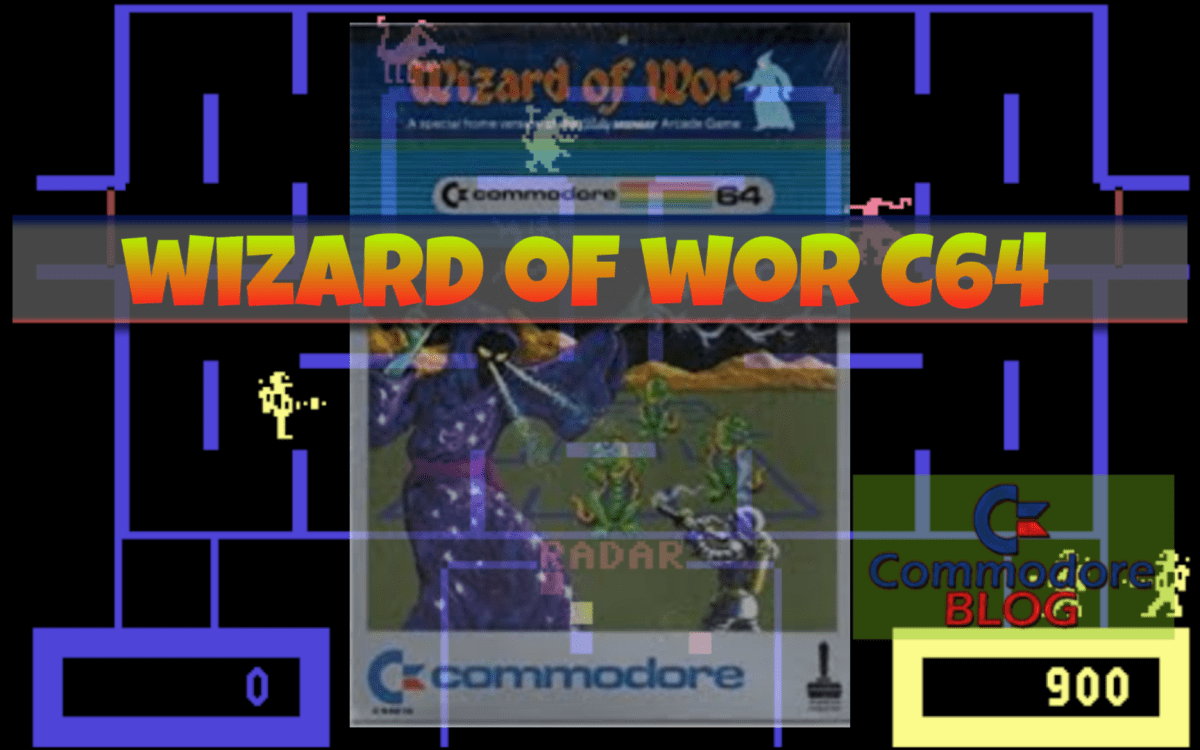 Wizard of Wor - Commodore 64