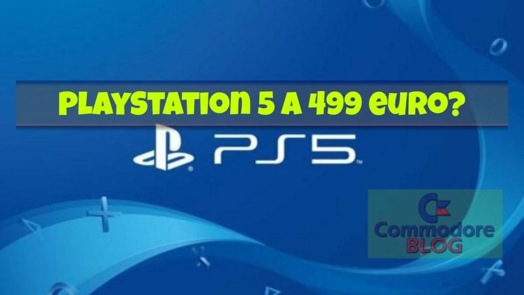 PlayStation 5 a 499 euro