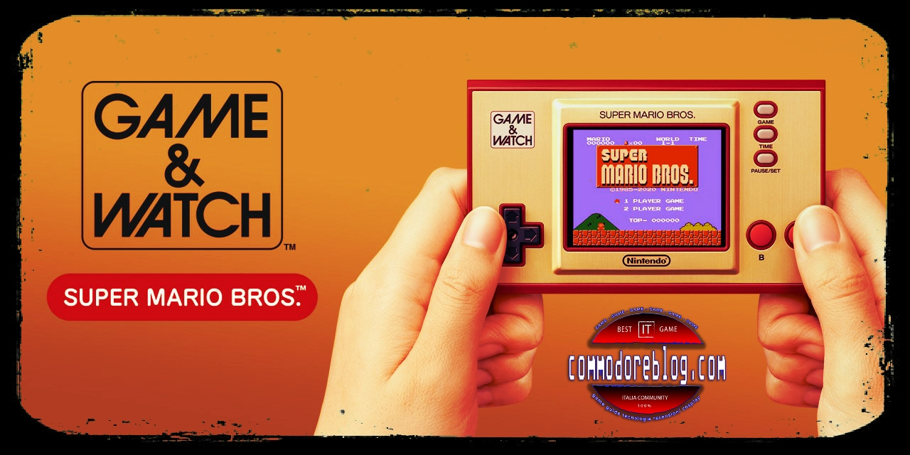 Nintendo Game & Watch, 35 anni di Super Mario