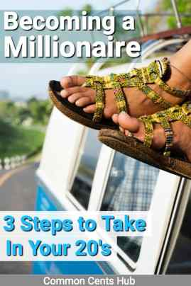 3 Simple steps done consistently will make you a millionaire.