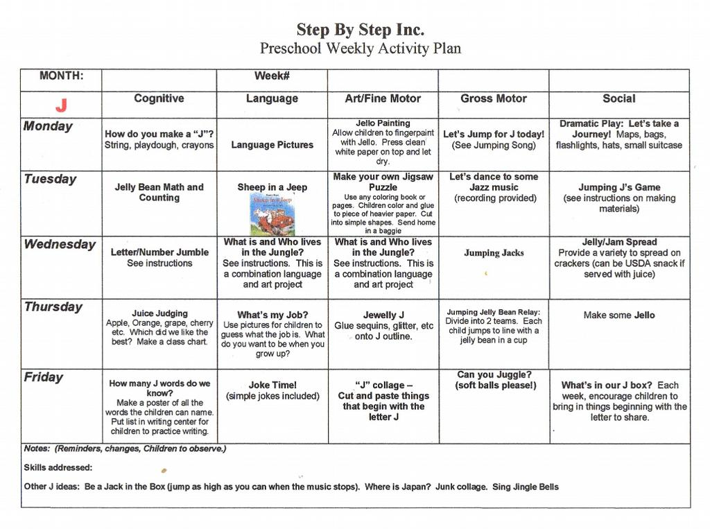 Weekly Lesson Planner Template weekly lesson plan template 8 free – Free Weekly Lesson Plan Templates