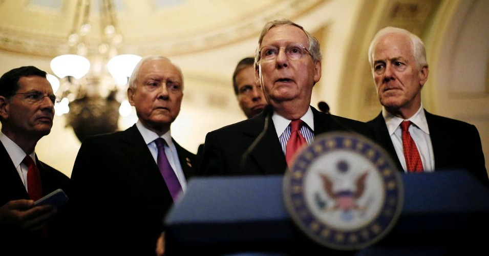Now that official debate has begun, Senate Majority Leader Mitch McConnell (R-Ky.) wants to pass Fast Track bill before Memorial Day. (Photo: Reuters)