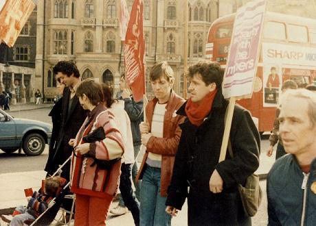 Miners' Strike rally, 1984. (Photo: Nick/Creative Commons. CC-BY-2.0)