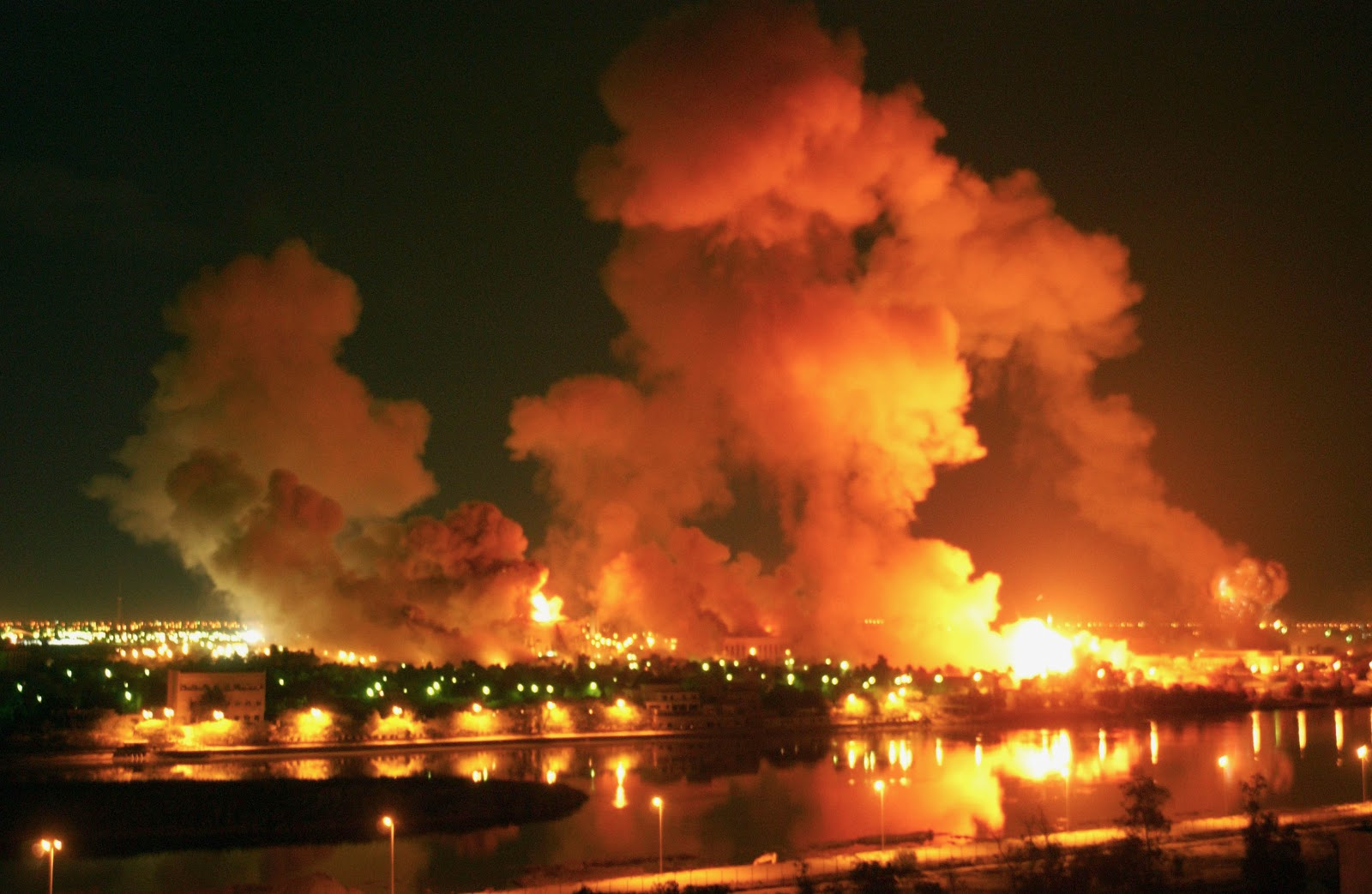 Image result for bombing of iraq
