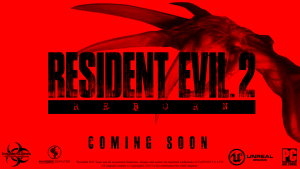 Resident Evil 2 Reborn Promotional Image - Invader Games on Facebook