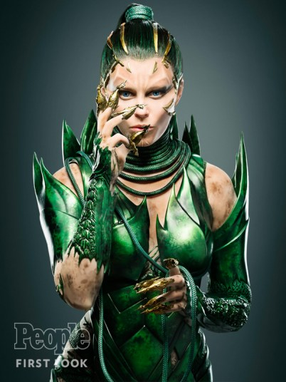 Banks as Rita Repulsa