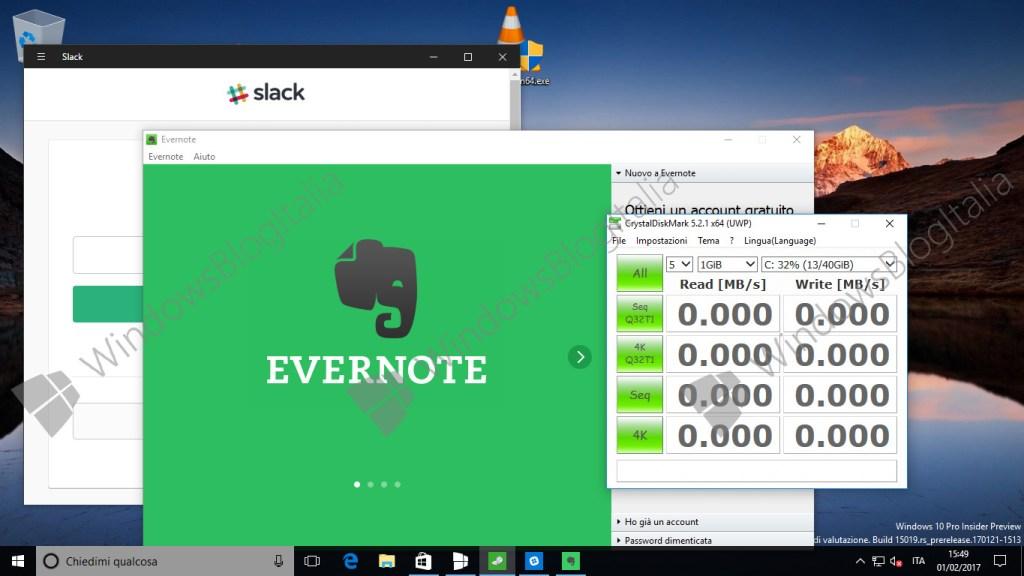 Windows Cloud (Screenshot via Windows Blog Italia)