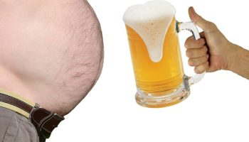 Does beer really cause a beer belly?