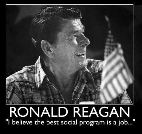 I Believe the Best social program is a Job...
