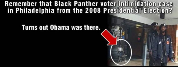 Black Panthers Voter Intimidation
