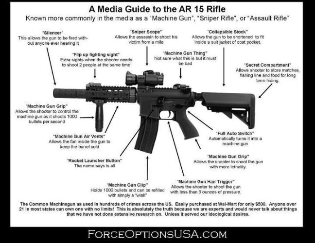 A Media Guide To The AR 15 Rifle