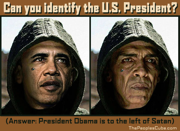 President Obama is to the left of Satan