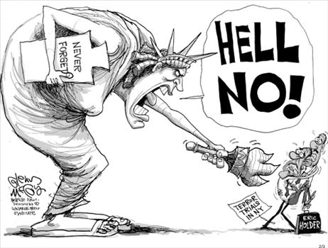 Hell No - The Statue Of Liberty
