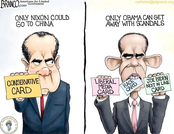Image result for cartoons on obama scandals