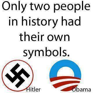 Only two people in history had their own symbols.