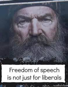 Freedom Of Speech Is Not Just For Liberals