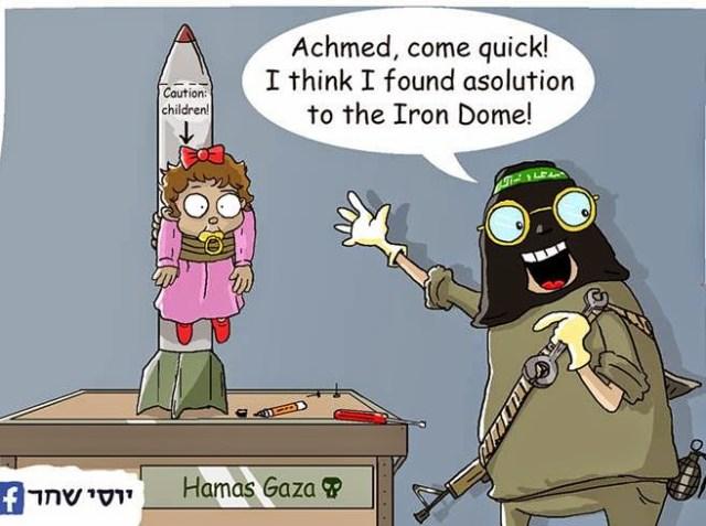 Hamas Iron Dome Solution