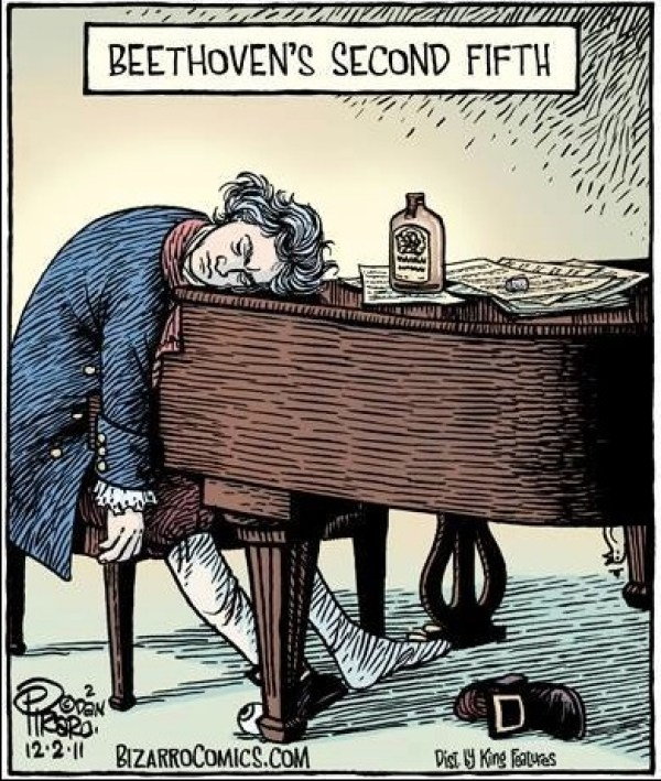 Beethoven's Second Fifth