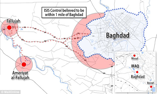 "ISIS Now ""At The Gates Of Baghdad"""
