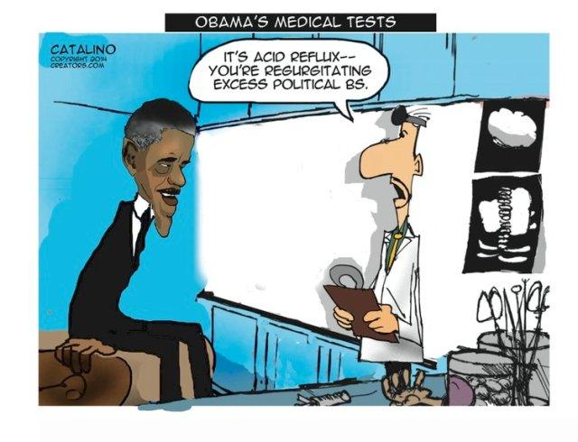 Obama's Medical Tests