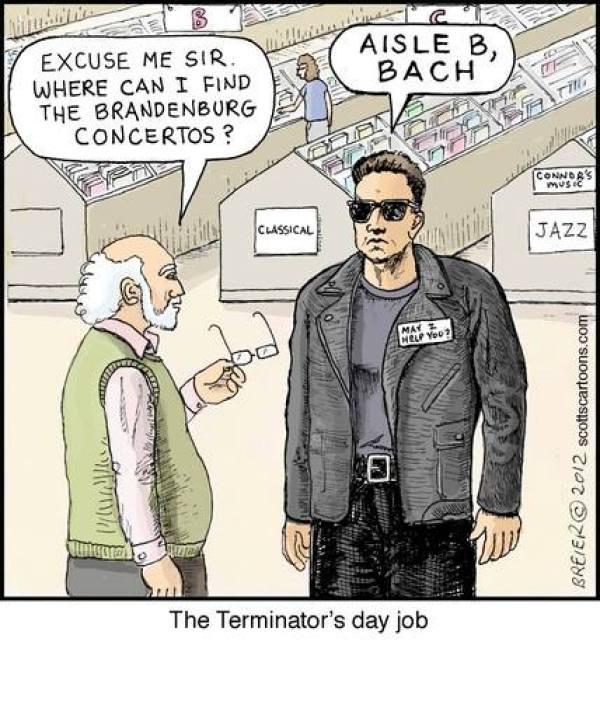 Terminator's Day Job