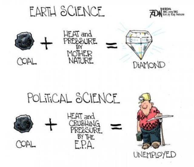 Earth Science vs Political Science