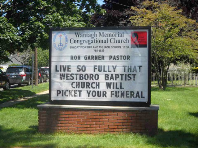 Funny Church Signs 1