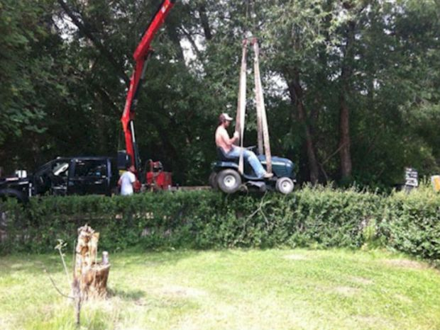 Redneck Ingenuity Hedge Clippers