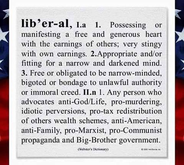 The Definition Of A Liberal