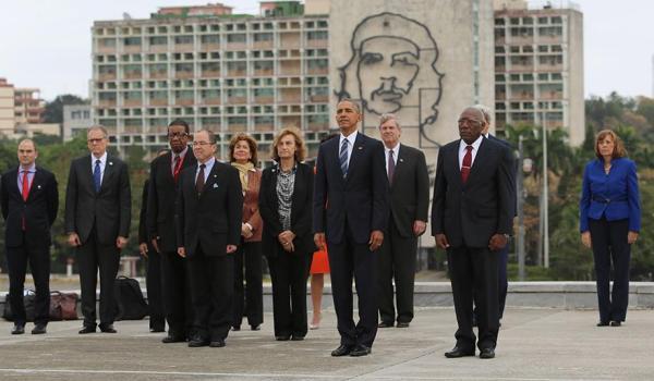 Obama Che Guevara in Cuba