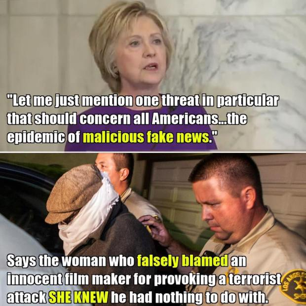 Fake News Benghazi Video Blame - More Fake News: Blaming Benghazi On A Video