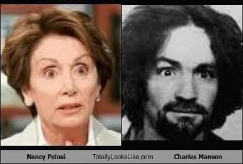 Nancy Pelosi And Charles Manson